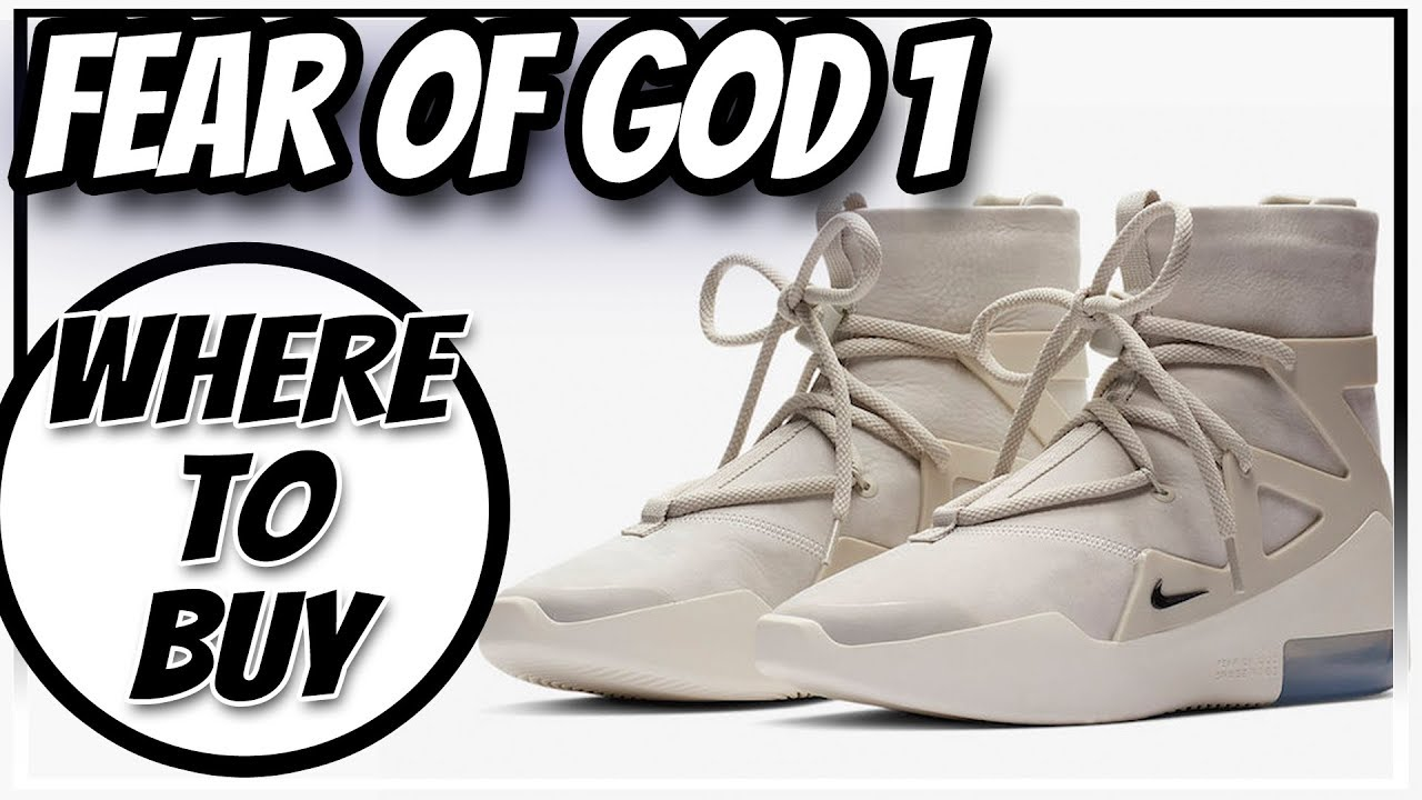 4e0591d623 WHERE TO BUY NIKE AIR FEAR OF GOD 1 | HOW TO COP FEAR OF GOD LIGHT ...