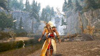 Assassin's Creed 3 Remastered - Master Assassin Bayek Hidden Blade Rampage & Free Roam