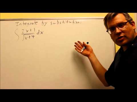 Integration By Substitution (Change Of Variables)