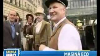O masina electrica din 1905 a facut senzatie pe strazile Berlinului
