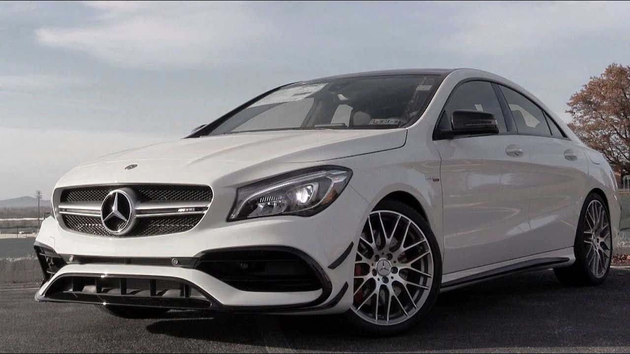 2018 Mercedes Benz Amg Cla45 Review Youtube