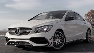 2018 Mercedes-Benz AMG CLA45: Review