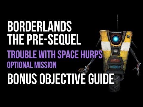 Borderlands The Pre-Sequel Trouble With Space Hurps Lazlo's Lost ECHOs Bonus Objective Guide