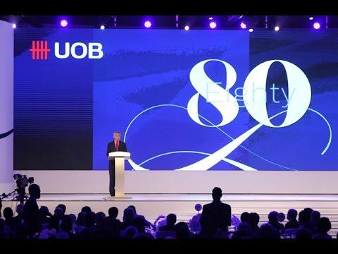 UOB 80th Anniversary Dinner