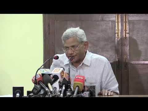 Comrade Sitaram Yechury's Press Conference On Polit Bureau Meeting After 17th Lok Sabha Results