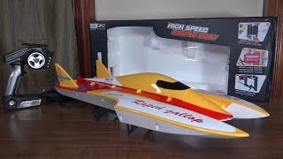 WLtoys - WL913 Speed Boat - Review and Run