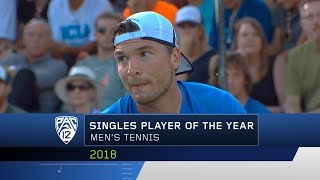 UCLA's Martin Redlicki named Pac-12 Men's Tennis Singles Player of the Year