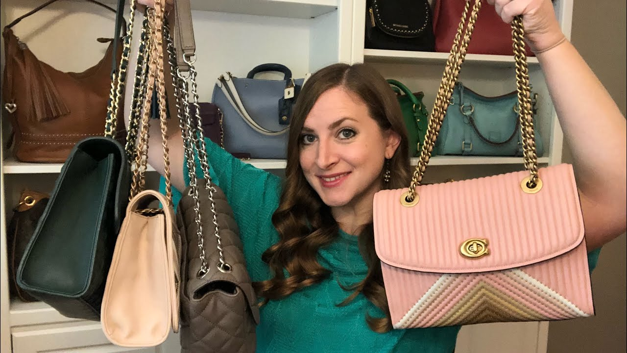 fd83111d0f8f24 REVIEW* Coach Quilted Parker! Comparison to Tory Burch, Michael Kors ...