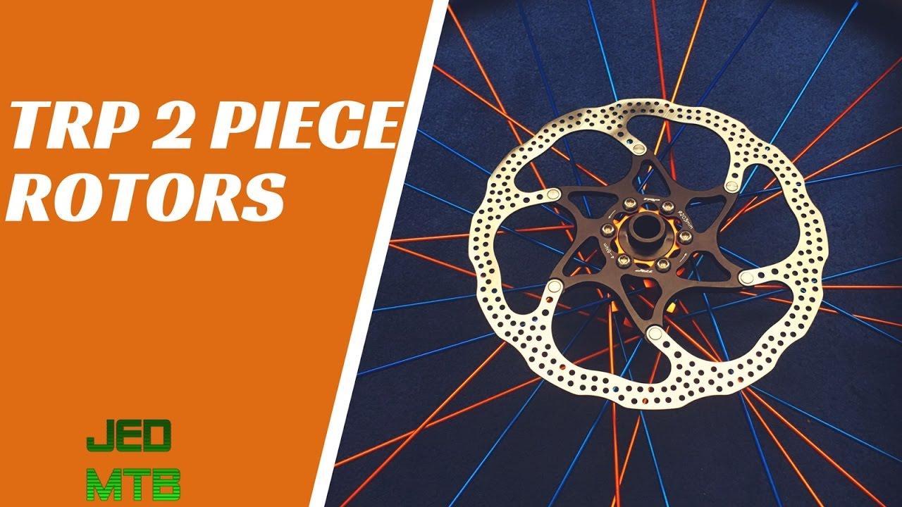 2-PCS TRP-29 Slotted Rotor MTB Road Bike Disc Brake Rotor 160mm