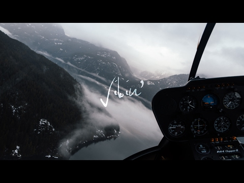 Mountain Heli Ride Above The Clouds (Beautiful BC)