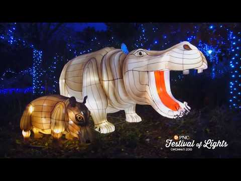 PNC Festival of Lights and Happy Holidays - Cincinnati Zoo