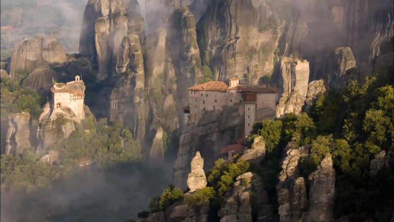 Meteora, Greece - suspended rocks with monasteries ... Mountain