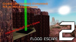 Roblox | FE2 Map Test - Crystal Lab + Updated v.3 [Completed] [Crazy] [Solo]