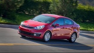 2016 Kia Rio Start Up, Road Test, and Review 1.6 L 4-Cylinder