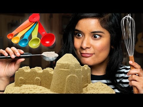 Building Sandcastles With Baking Supplies