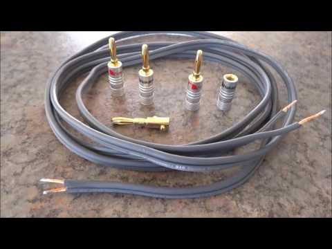Using Banana plug for your speaker cable