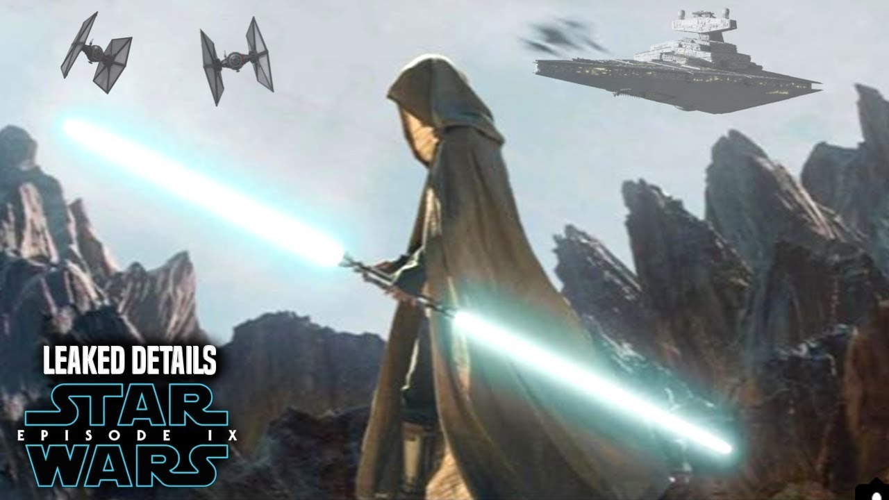 Star Wars Episode 9 Scene! Leaked Details Revealed & Spoilers (Warning)