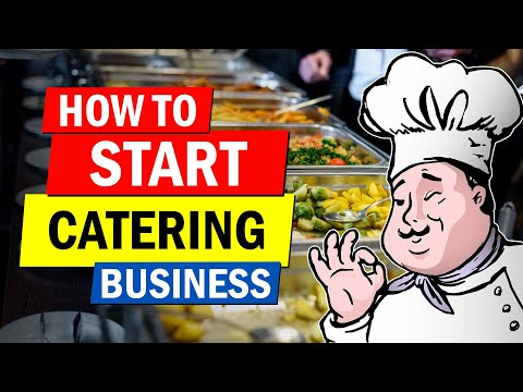 How to Start a Catering Business | Profitable Business Idea for Beginners