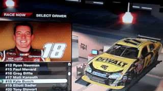 NASCAR 09 Sprint Cup Drivers