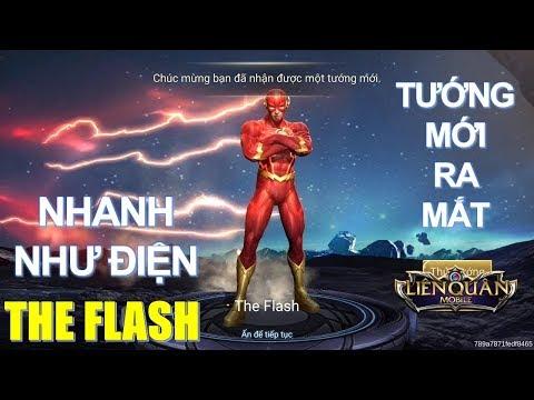 Tướng mới Siêu anh hùng The Flash nhanh hơn tia chớp đã về Liên quân [Mua và test ] Arena of Valor thumbnail