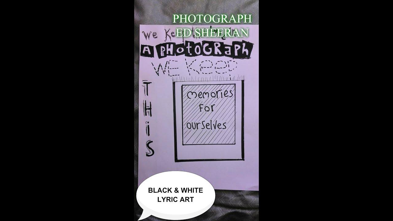 ed sheeran lyric drawings - photo #2