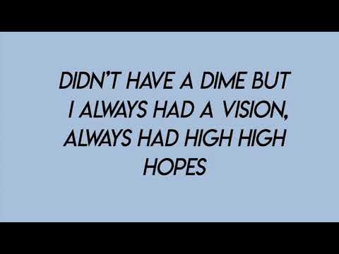 Lagu Video High Hopes - Panic! At The Disco  Lyrics  Terbaru