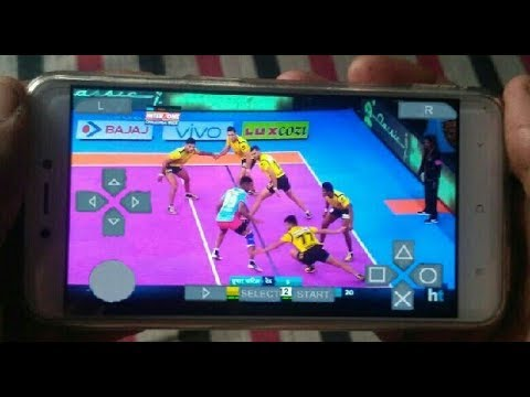 How to download vivo pro kabaddi game | Hd gameplay | Hindi