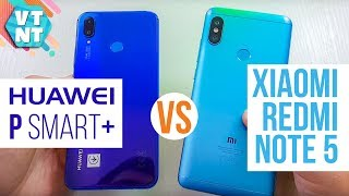 Xiaomi Redmi Note 5 vs Huawei P Smart+ Сравнение. Какой выбрать?