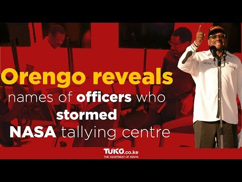 NASA publicly names police officers in tallying centre raid