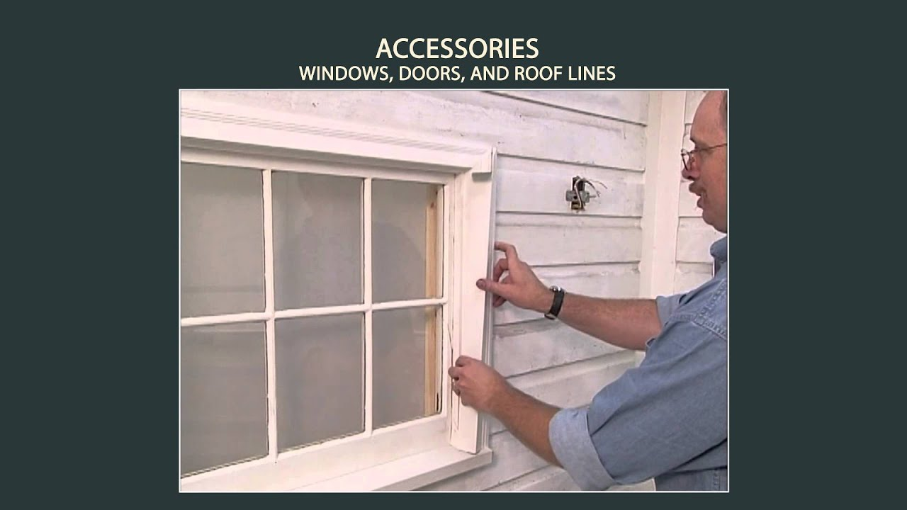 Vinyl Siding Installation Accessories - Windows Doors Roof Liners (Part 8 of 9) & Vinyl Siding Installation: Accessories - Windows Doors Roof Liners ...