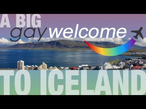 A 'Big Gay Welcome' to ICELAND