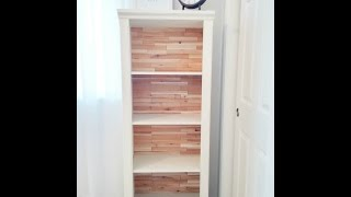 Easy & Inexpensive Bookcase Makeover!