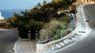 Chris Haslam & Friends Find A Skate Paradise On A Greek Island  |  SEARCH FOR THE BLU ENIGMA Part 1