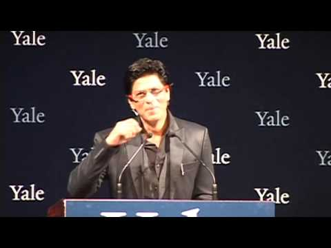 """How to Survive Life"" - Shah Rukh Khan at Yale University as Chubb Fellow (Official Video)"