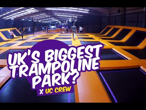 EUROPE'S BIGGEST TRAMPOLINE PARK?!