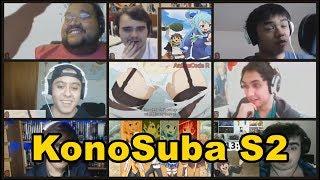 KonoSuba S2 Funny Moments Part 1 | Live Reaction Mashup