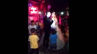Damattan geline sürpriz canlı ilk dans şarkısı   :)
