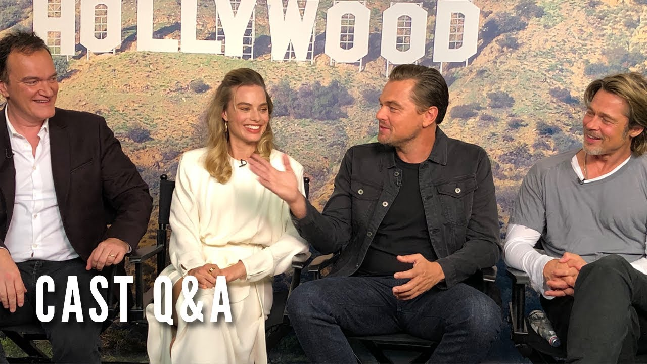 Once Upon A Time In Hollywood Cast Q A Youtube