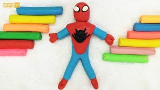 Spiderman Plasticine Modelling Clay for Kids