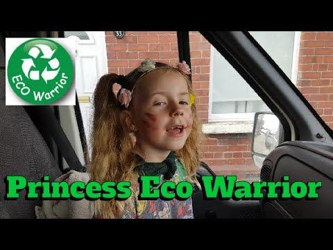 Princess Becomes An Eco Warrior! ❤