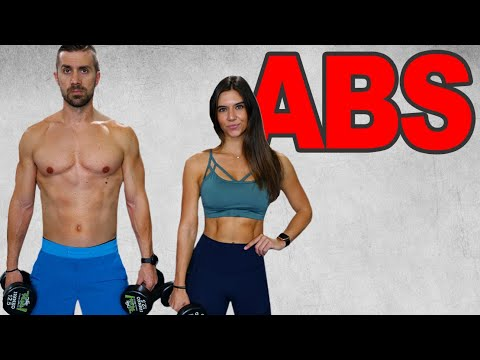 10 Moves To BLAST YOUR ABS With A DUMBBELL | Strong Core Training