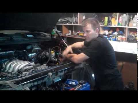 УАЗ Патриот (первый запуск) с ДВС Тойота V8 4 литра + акпп а442ф + РК Ланд Круизер 100