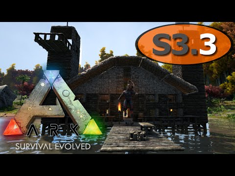 ARK: Survival Evolved - Harbor Cafe Building - IronMine #3