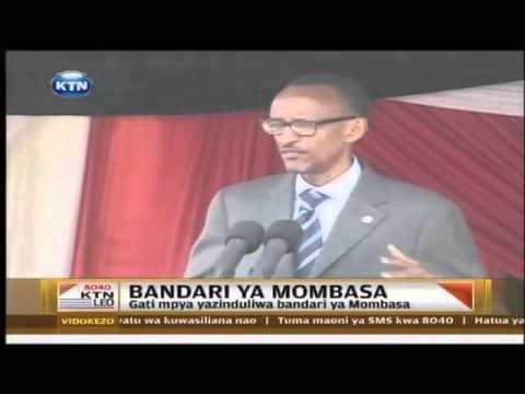 Gati mpya yazinduliwa katika Bandari ya Mombasa