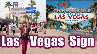 The Famous WELCOME TO FABULOUS LAS VEGAS Sign