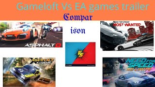 Gameloft games trailer Vs EA games trailer 2018 must watch by Lost gaming 2