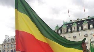 "Ethiopia - ""Tekebresh Yenorshew:"" Ethiopian Protests in Frankfurt, Germany"