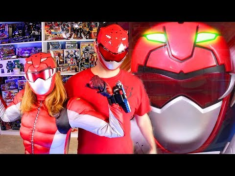 Beast Morphers Red Ranger Training Set & Power Rangers Halloween Costume Review from YouTube · Duration:  11 minutes 57 seconds