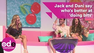 Love Island's Jack and Dani say who's better at 'doing bits' in game
