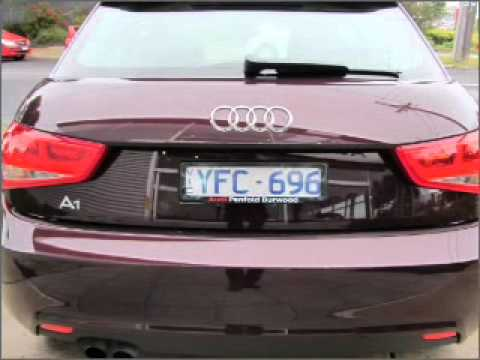 2011 Audi A1 Attraction Burwood Vic